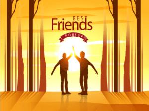 La amistad de dos amigos